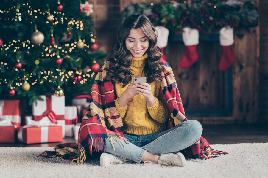 LiveChat kerstmis